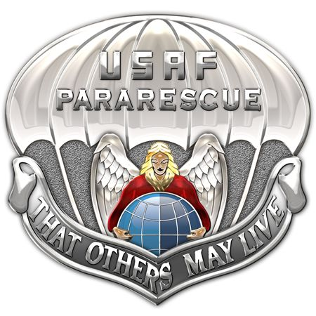 Military Insignia 3D: Air Force Pararescuemen (Pararescue Jumpers a.k.a PJs)