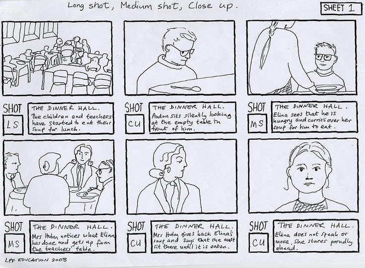 action storyboards CGR105Storyboards Pinterest – Storyboard Sample