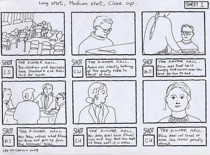 action storyboards CGR105Storyboards Pinterest – Storyboard Sample
