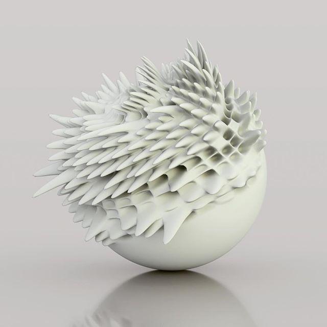Spiky Data Sphere