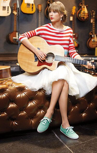 I love that Taylor has a line of Keds! I hope that she continues into the album 5 era.