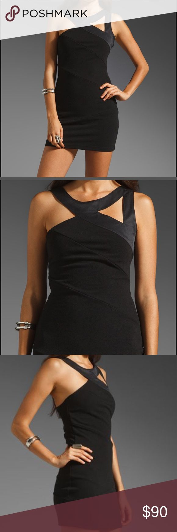 Finders keepers Black bondage dress NWT Finders Keepers Lets Hang On Black Body Con Dress  Size Small Armpit to Armpit: 15.5 inches  Length: 31 inches  Dress has Stretch  Retail: $121.     Open to reasonable offers 🤗 Finders Keepers Dresses Mini