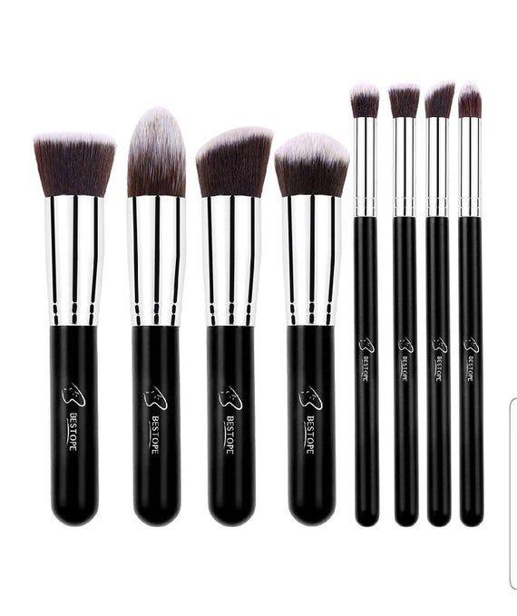 8pc Makeup Brush Set In 2020 Bestope Makeup Brushes Makeup Brush Set Best Best Makeup Brushes