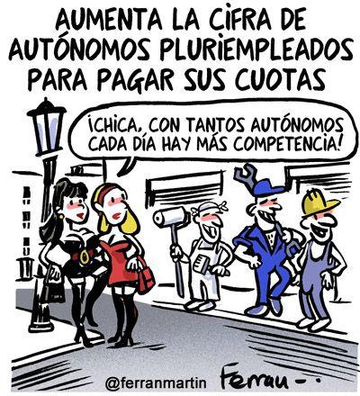 #Autónomos pluriempleados