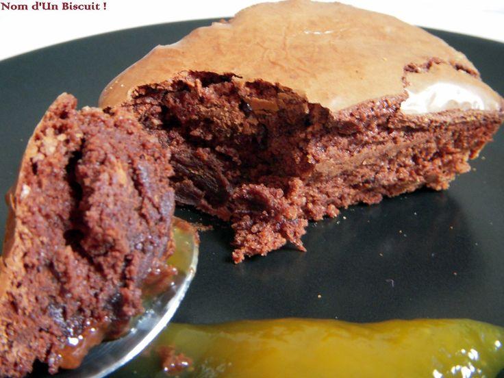 Cake Chocolat façon Macaron - Sans Gluten - Sans Lactose - Sans Oeufs - Nom d'Un Biscuit ! (9)
