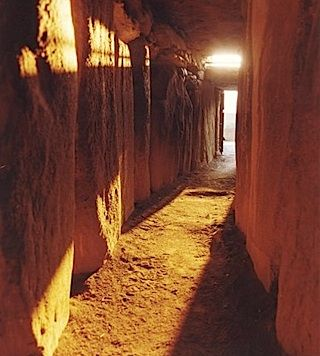 Newgrange at solstice