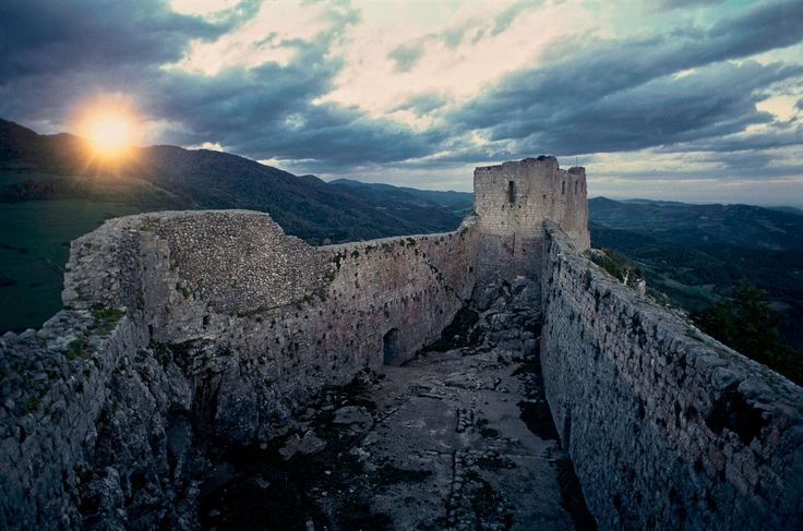 Picture of Montsegur Castle:
