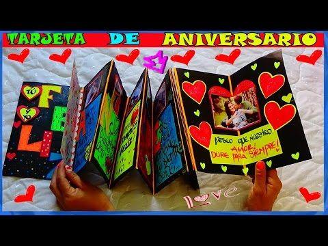 Tarjeta de Aniversario - Anniversary Card - Creaciones  Betina - YouTube