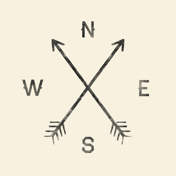Compass (Natural) Art Print by Zach Terrell | Society6