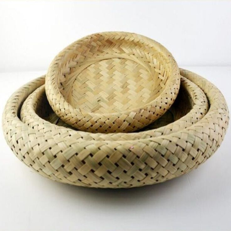 ==> [Free Shipping] Buy Best Fruit plate bowls Natural bamboo basket delicatessens plate dustpan bamboo cage vintage decor handmade bamboo storage basket Online with LOWEST Price   32725100598