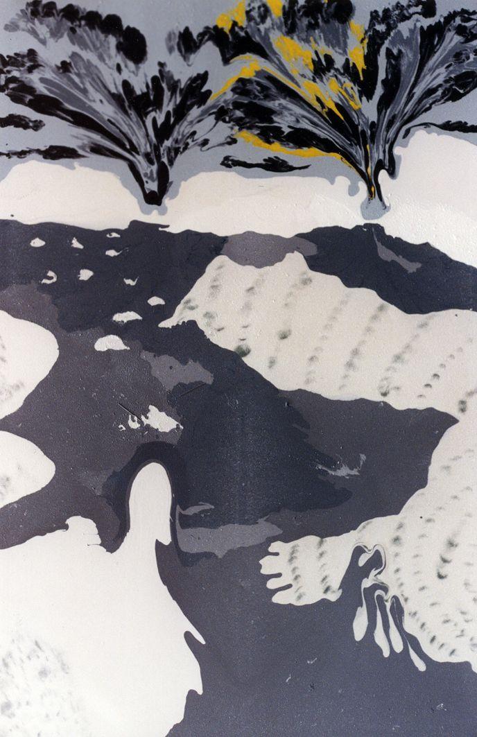 #estherramos #arte #pintura #cuadro #pigmento #latex #tela #lienzo #Ocho meses de mono
