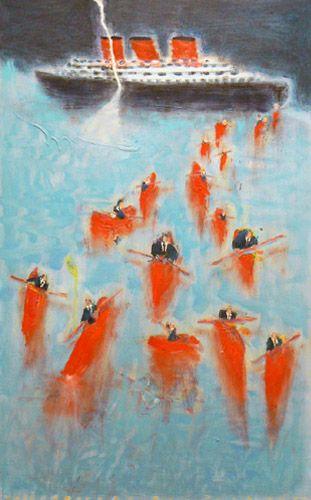 Katherine Bradford Paintings For Sale