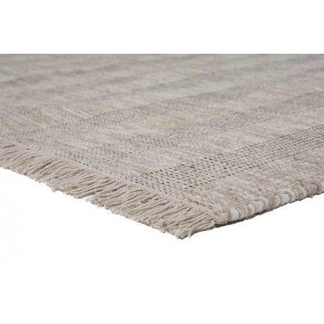 WOOL RUG | Zacht en hoogwaardig taupekleurig vloerkleed met kwastjes gemaakt van 100% wol. Dit wollen vloerkleed met kwastjes. #vloerkledenloods #modern #rug #home #interiordesign #carpet #vloerkleed