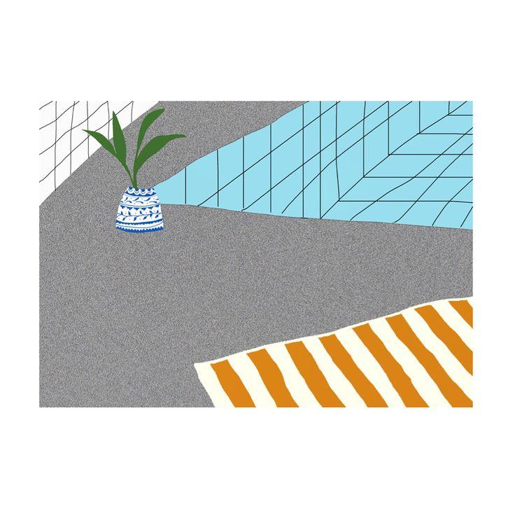 Grid series. Illustration 2014