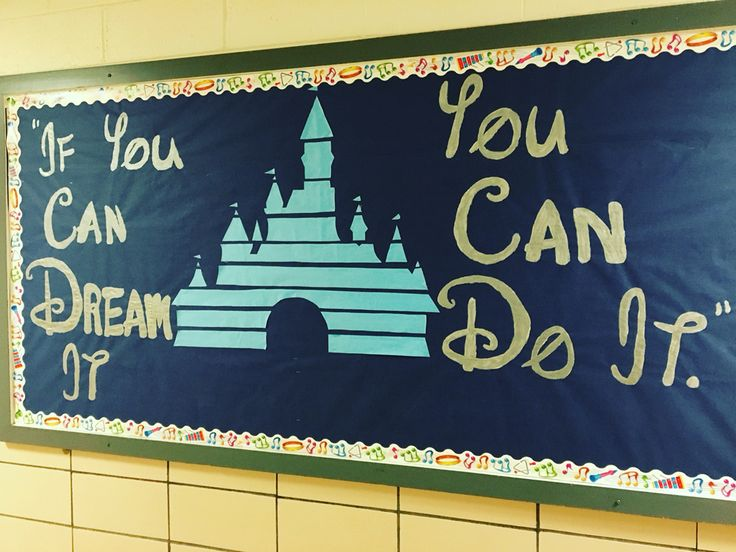 MIOSM 2016 theme: Disney. Elementary music bulletin board