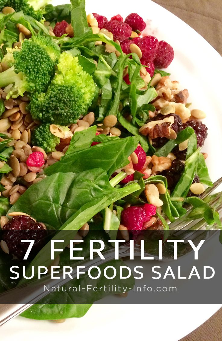 As an important part of the Fertility Diet, salads (and Fertility Smoothies) are…