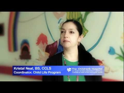 Kristal Neal, BS, CCLS, Child Life Program Coordinator at The Children's  Hospital at Saint Peter's answers the question,