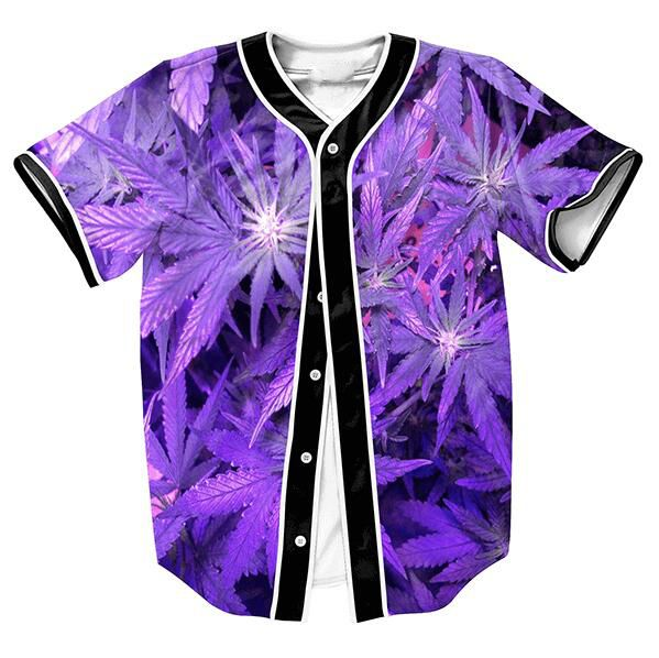 Cheap tee shirt, Buy Quality hip hop tees directly from China hip hop Suppliers: Purple Future Weed Jersey Mens Buttons Overshirt Rock Streetwear Tops Baseball Jersey Hip Hop Tees Shirts