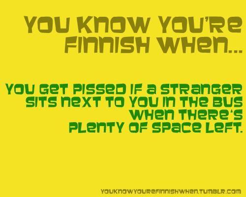 varmasti olen suomalainen..