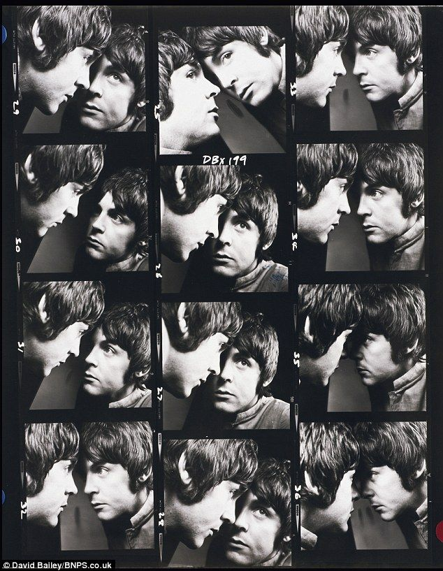 Eight gaze a week: Paul McCartney gazes wistfully in these black and white snaps taken by David Bailey