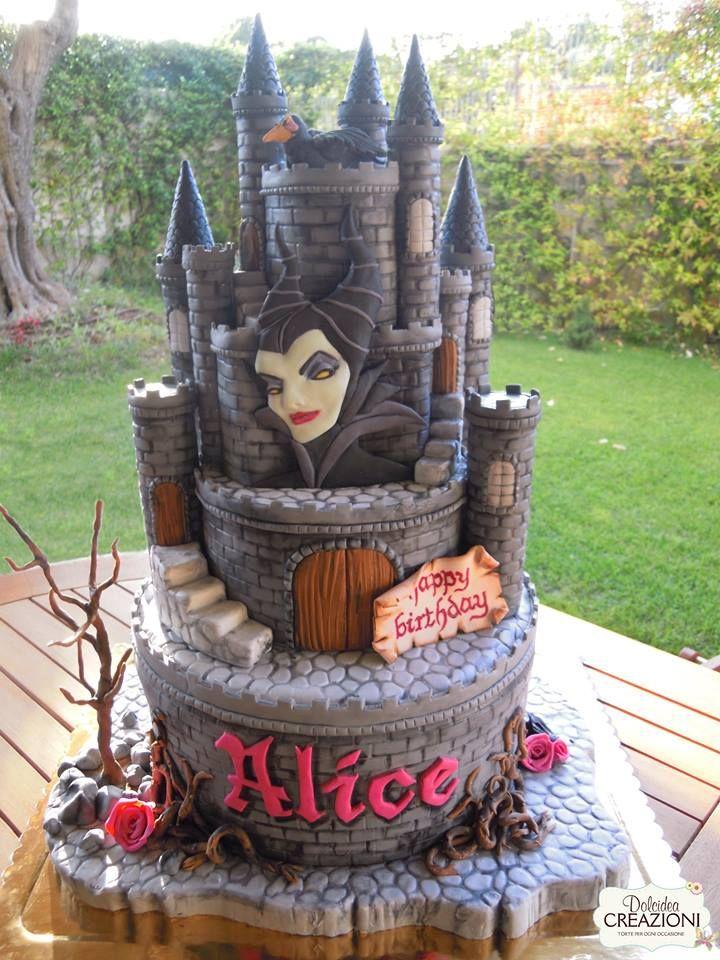Torte Maleficent di Dolcidea creazioni