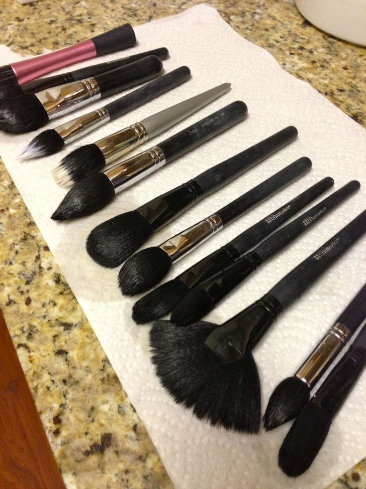 The Beauty Book: How to Clean Your Makeup Brushes Like a Pro