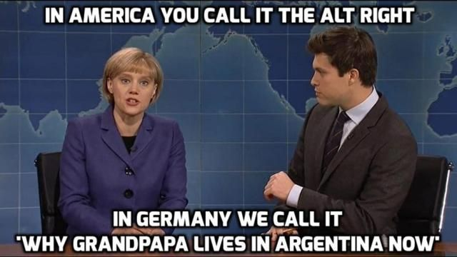The best memes about the Russian hacking scandal, Trump's Cabinet of deplorables, and more.: SNL on the Alt Right