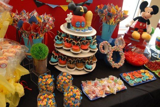 "mickey mouse clubhouse birthday party ideas | ... / Birthday ""Mickey Mouse Clubhouse Candy Buffet"" 