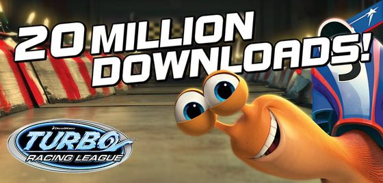 Turbo Racing League has been downloaded more than 20 million times!