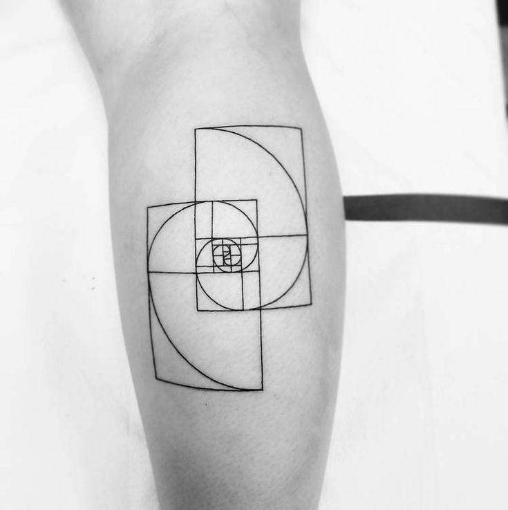 40 Amazing Fibonacci Tattoo Designs