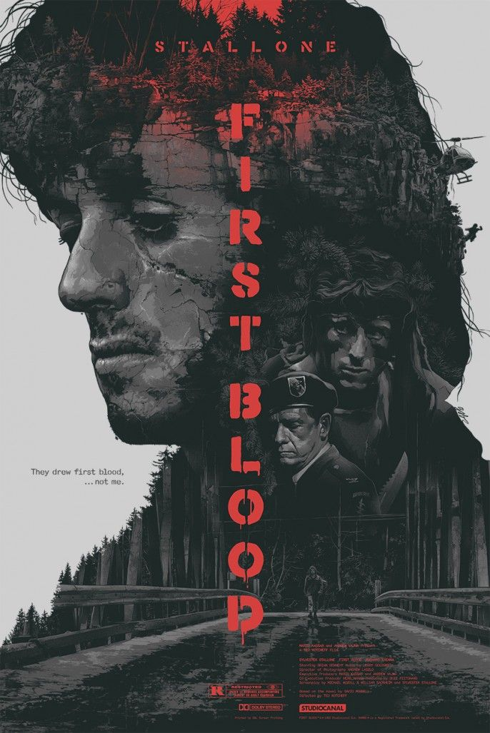 Rambo: First Blood by Gabz