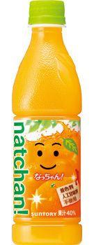 なっちゃん オレンジ 430mlペット