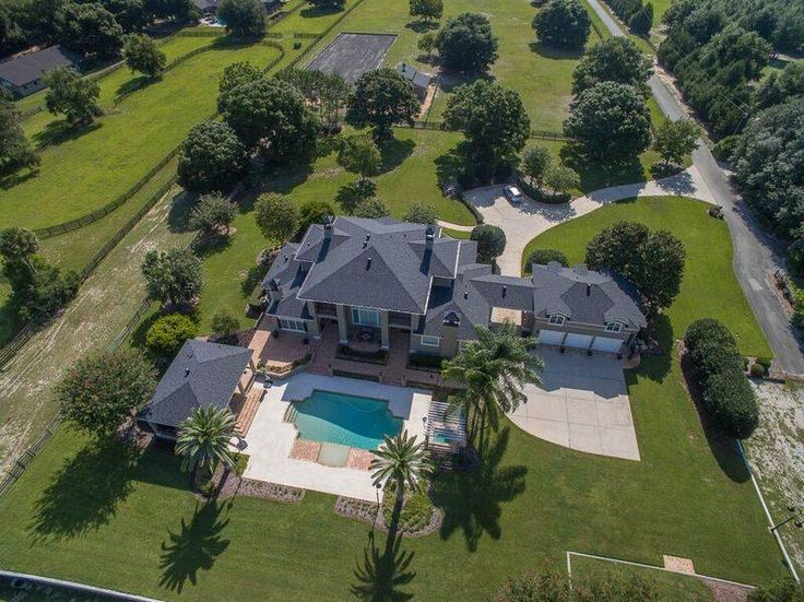 Equestrian Estate for Sale in Lake County in Florida. Relaxed Elegance describes this 10 Acre exceptional Equestrian Estate with all of the features you would expect. Built by Award Winning Custom Home Builder Dave Brewer, this perfectly located home is minutes from Historic Mount Dora's restaurants, shops and marina with several golf courses nearby.