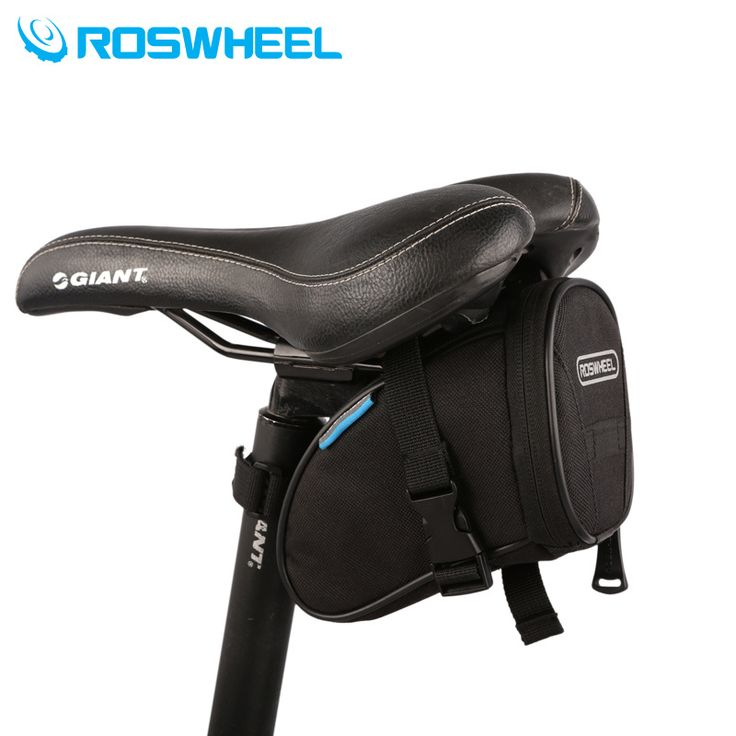 ROSWHEEL Vélo Sac Bici Montagne Vélo Sac Cycle Biycle Panier VTT Sac Descente Selle Sac Queue Outils de Poche Accessoires Vélo