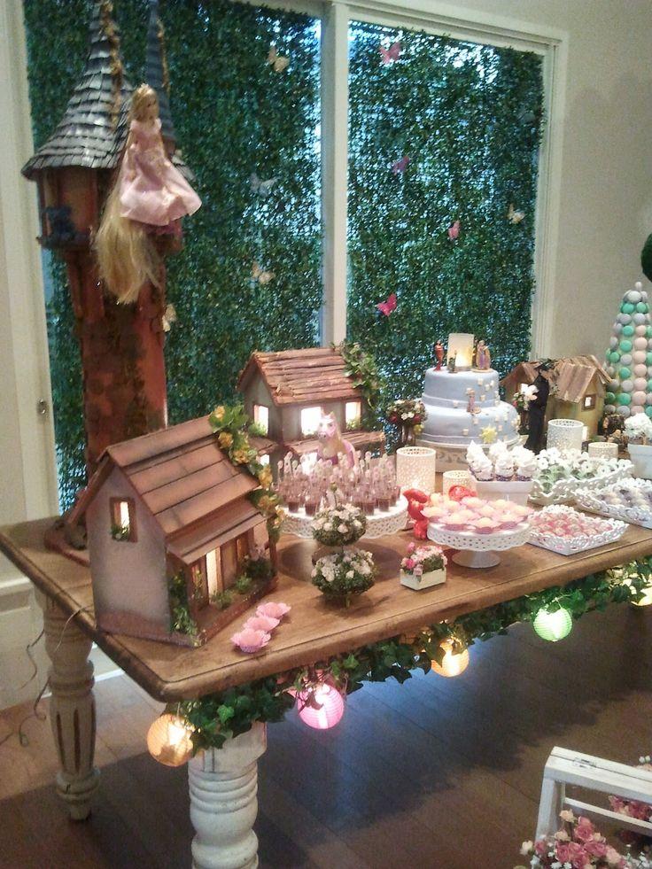 Fun In The Box, Festa infantil, Eventos, Festa a domicilio, Decoração: Festa Enrolados/Rapunzel!!!! Linda!!!!!
