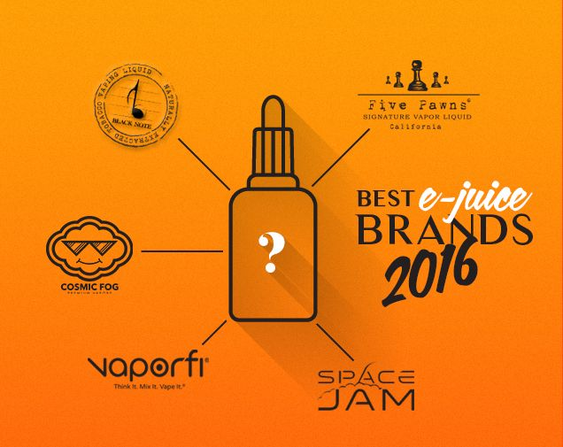 Best E-Juice, Vape Juice and E-Liquid Brands