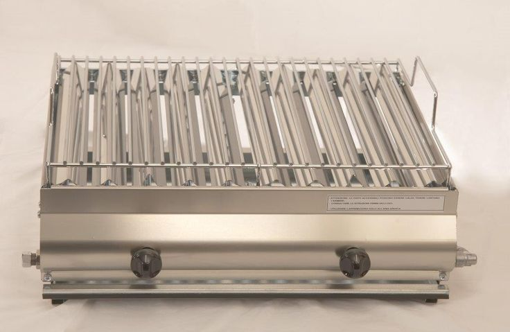 Mod. F2 Barbecue in acciaio inox  GA Srl