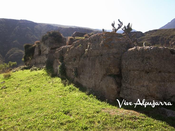 Muralla del castillo. Vive Alpujarra