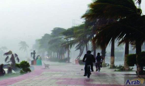 Hurricane Newton rips across Mexico holiday resort