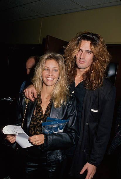 Actress Heather Locklear And Husband Musician Tommy Lee
