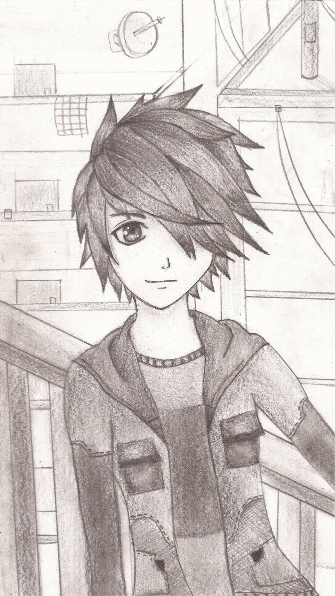 Emo anime art sketch anime art drawings pencil drawings anime art