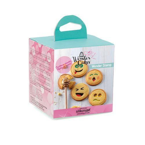 Stempels voor koekjes - smiley