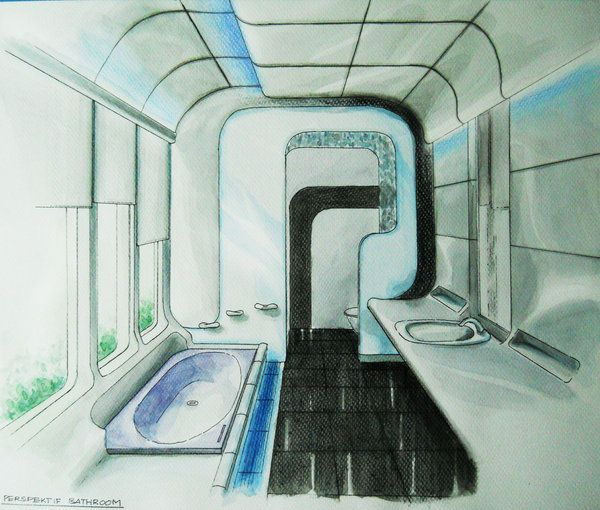 16 Best Futuristic Bathrooms Images On Pinterest Bathroom Bathrooms And Homes