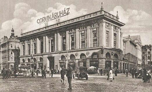 Corvin Áruház, Budapest.