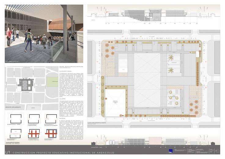 Concurso Construcción Proyecto Educativo Institucional de Andacollo / Plan Arquitectos