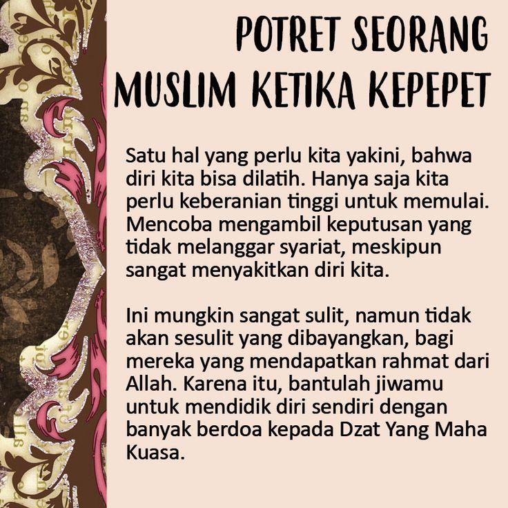 http://nasihatsahabat.com/potret-seorang-muslim-ketika-kepepet/  #potretseorangmuslim #ketikakepepet #kepepet #potret