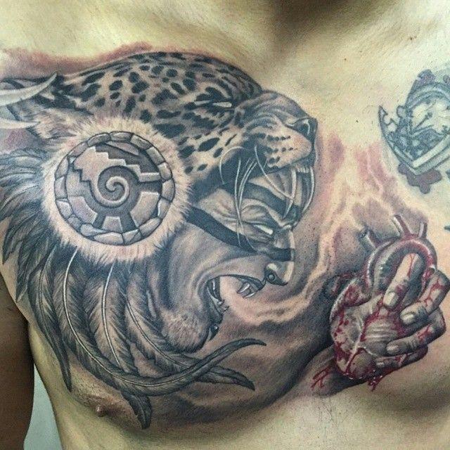 17 best ideas about jaguar tattoo on pinterest cheetah for Jaguar warrior tattoo