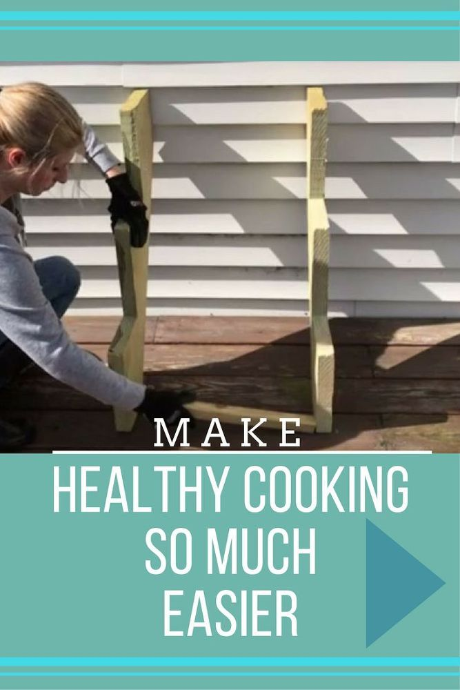 How is this the first time we're seeing this?  DIY outdoor herb garden = healthier cooking by the grill.