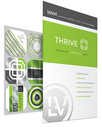 THRIVE Premium Lifestyle DFT (Derma Fusion Technology) Become the person you are meant to be. Happy and healthy with just 3 simple steps first thing in the morning. #Mainethrives #easyas123 www.louellagrindle.le-vel.com