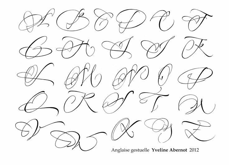 Yveline Abernot Anglaise · Tatouage InitialesTatouage LettreTattoo